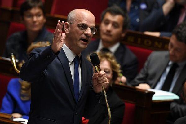 Jean-Michel Blanquer à l'Assemblée nationale