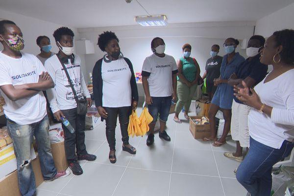 Opération solidarité Acise étudiants campus