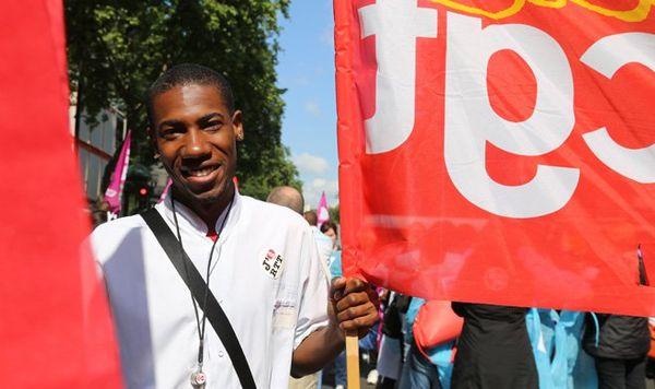 Grève aux hôpitaux de Paris : de nombreux antillais dans la manifestation