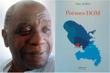 """L'auteur, compositeur et interprète Sam Alpha (surnommé le Brassens créole), signe son premier recueil de poésies à l'âge de 80 ans : """"Poèmes DOM (Vérone éditions - 2021)"""