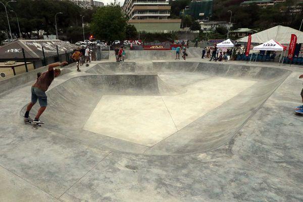 Réouverture du skate park de Tipaerui