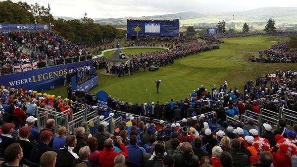 C'est sur le parcours de golf de Gleneagles que se disputera le championnat européen de golf.