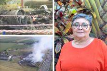 Loin de Gonesse et des lieux du crash, Michèle Fricheteau vit aujourd'hui en Calédonie.