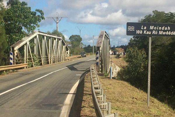 Accident grave du 11 août à Poya Sud, pont de la Moindah