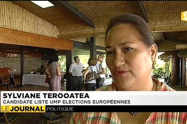 Européennes : la candidate UMP appelle les polynésiens à se mobiliser