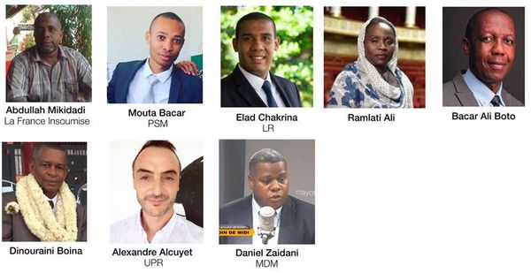 Candidats aux Legislatives partielles