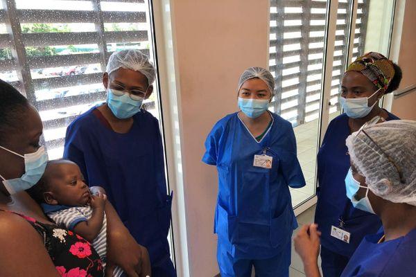 Une équipe dirigée par un pédiatre lactarium
