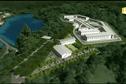1ère visite officielle sur le chantier de la future prison de Papeari