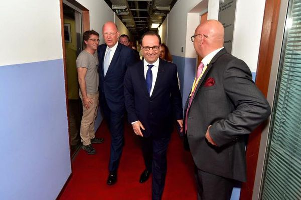 Hollande à Gpe 1ère