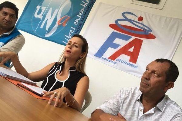 FAFPH Mme Tronc et UNSA CHU de La Réunion 040918