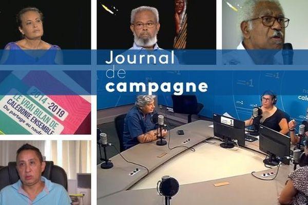 Mosaïque journal de campagne du 9 mai 2019