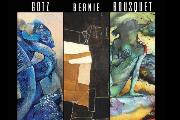 Expo collective : Gotz, Bousquet et Bernie