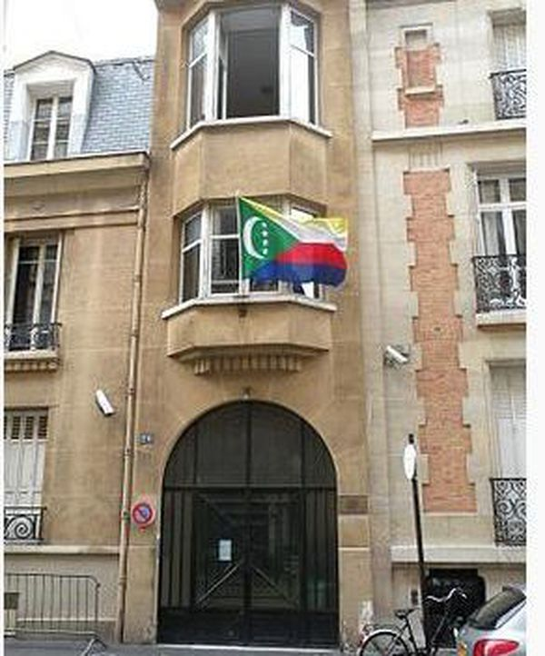 Ambassade des Comores à Paris