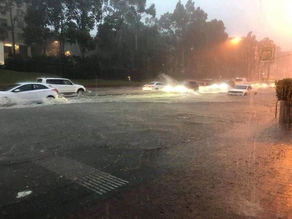 Sydney. Orages Inondations