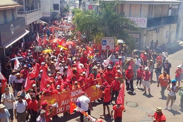 Grève du 5 décembre contre la réforme des retraites Saint-Denis 051219