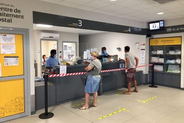 Centre de traitement postal OPT coronavirus