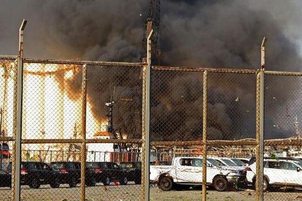 Explosion au Liban