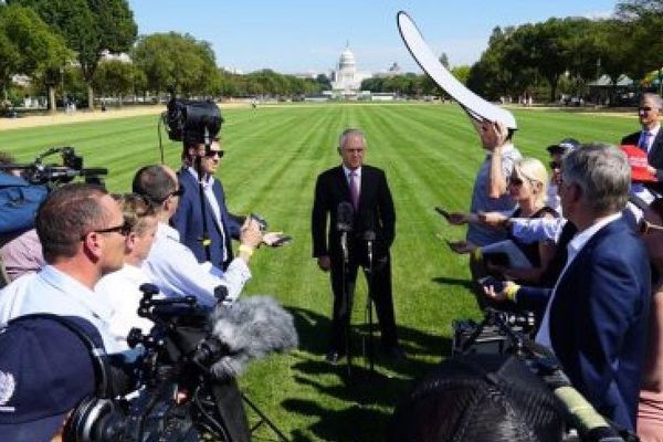 Turnbull à Washington
