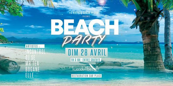 Visuel Beach party 2019