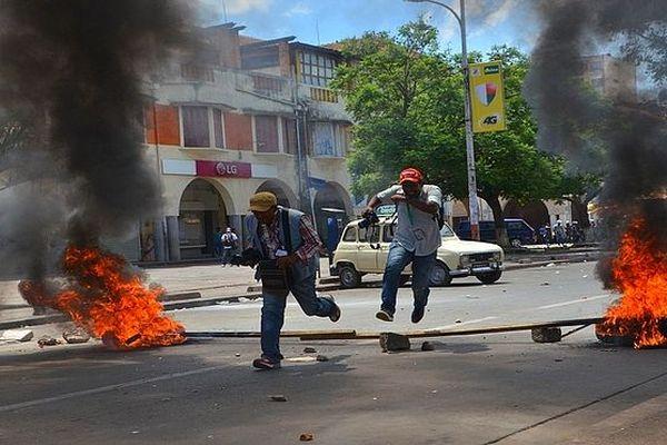 Manifestation à Tana 2 janvier 2019