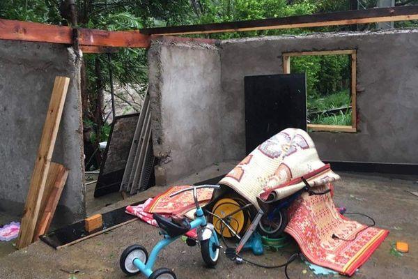 Oma, dégâts à Koumac (février 2019)