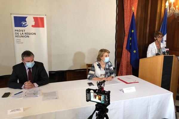 Conférence de presse mesures anti Coronavirus en préfecture
