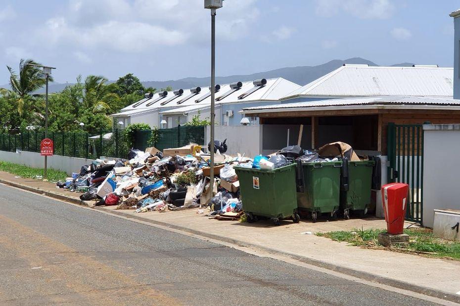 Nord Basse-Terre : nouveau problème de ramassage des ordures - Guadeloupe la 1ère