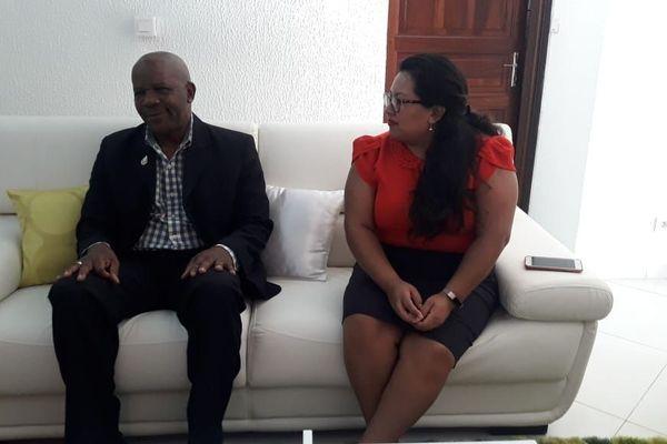 Donald Sinclair le secrétaire d'Etat au Tourisme du Guyana