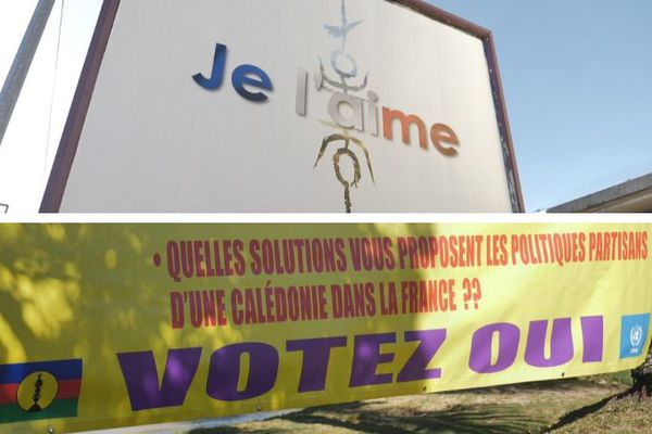 Exemples d'affichage électoral pour la campagne référendaire