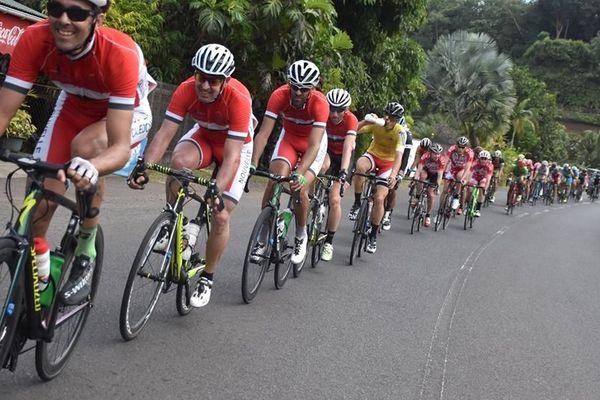Tour cycliste de Tahiti 2019, équipe de Calédonie