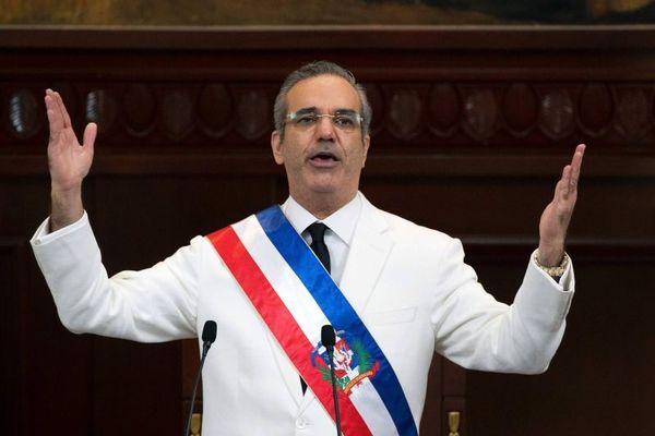 Luis Abinader, président de la République dominicaine