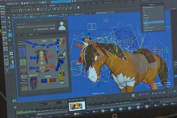 studio d'animation Gao Shan Pictures Saint-gilles 290619