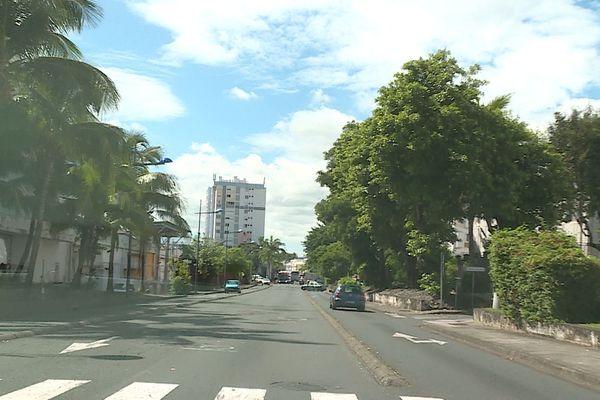 Avenue Leconte de Lisle au Chaudron