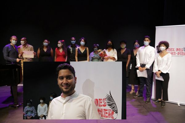 finale voix des outre-mer, la sélection de La Réunion, Cédrick Nourry