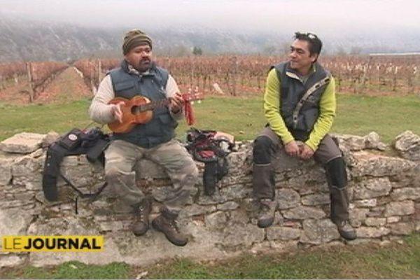 Viticulteur polynésien à Cahors