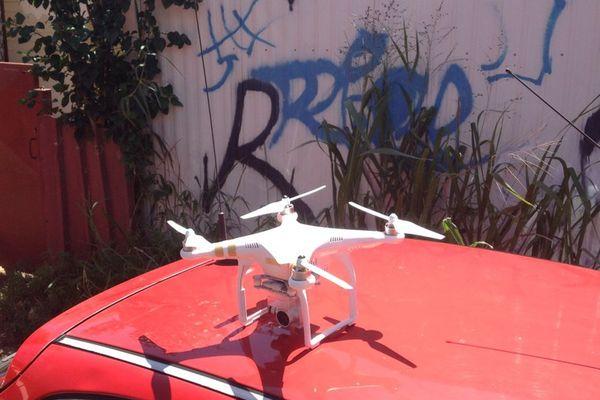 Le drone utilisé par la cellule de crise
