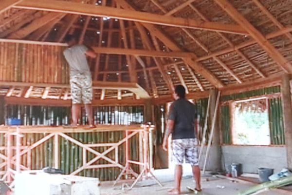 construction avec des matériaux locaux