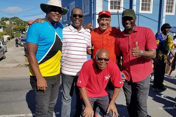 La hierarche du SLP, Parti Travailliste de Sainte Lucie