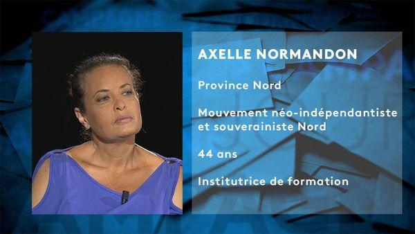 Provinciales 2019: fiche candidat d'Axelle Normandon
