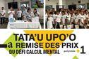 Remise des prix de la 8e édition du défi calcul mental Tata'u Upo'o