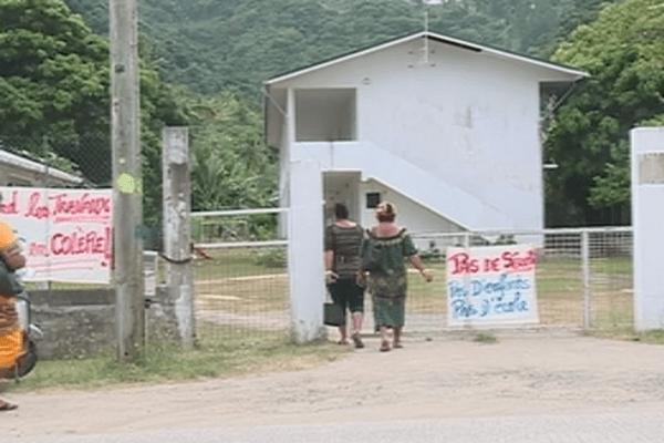 école de fiua à Futuna