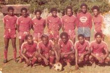 Photo du FCM lors de son premier match officiel en 1978 face à Rapide de Labattoir.