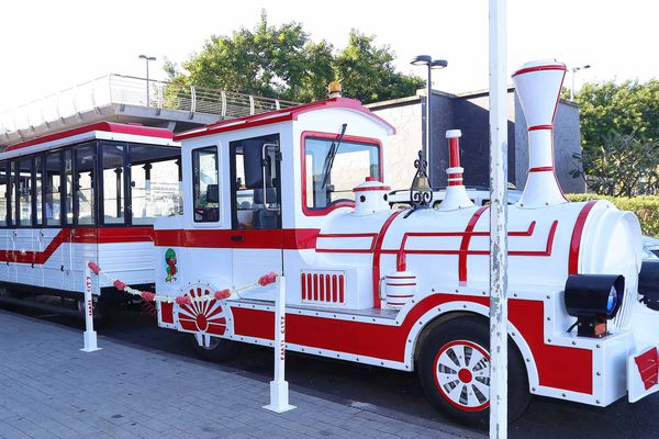 Inauguration du petit train de Papeete