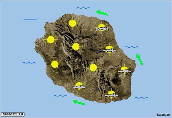 Carte météo 20 mai 2020