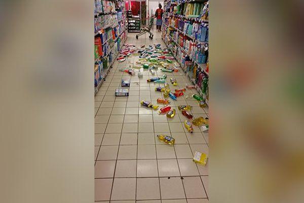 Dégâts séisme