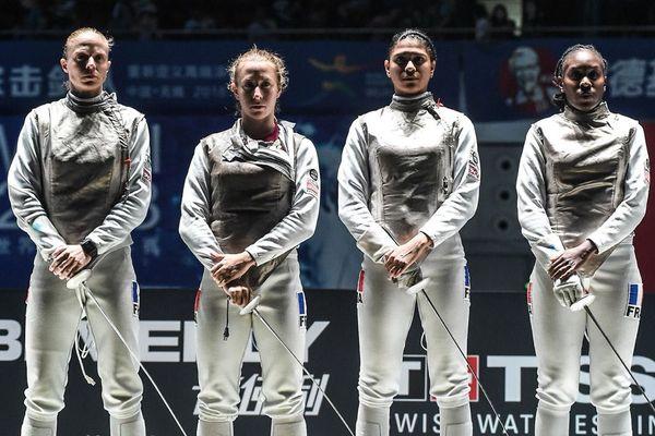 Equipe de France escrime médaille de bronze