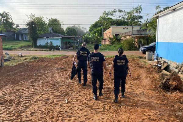 Opération Triton conduite par la police fédérale à Oiapoque