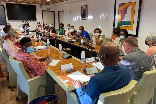 1ère réunion du Comité de la Transparence