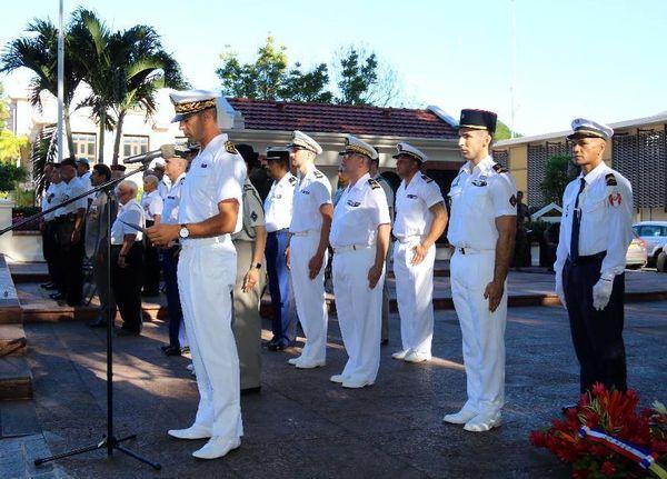 Cérémonie à la mémoire des soldats morts en Indochine