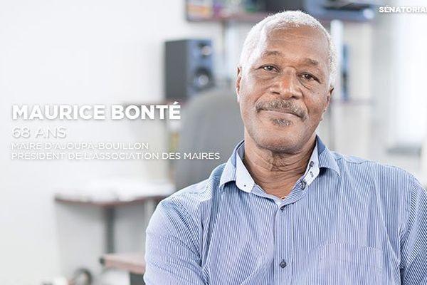 Maurice Bonté, Sénatoriales 2017